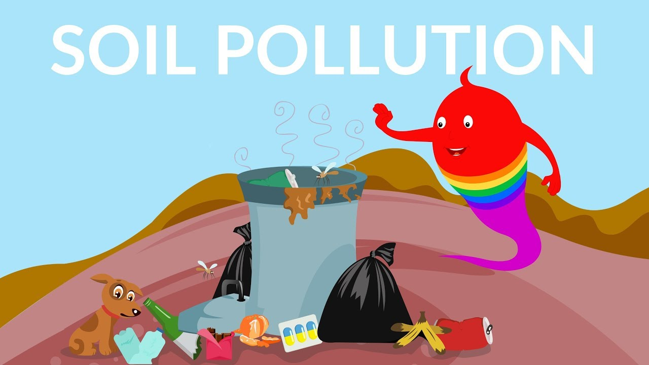 soil pollution and its causes