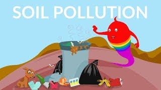 Soil Pollution || Video for Kids || soil pollution effects