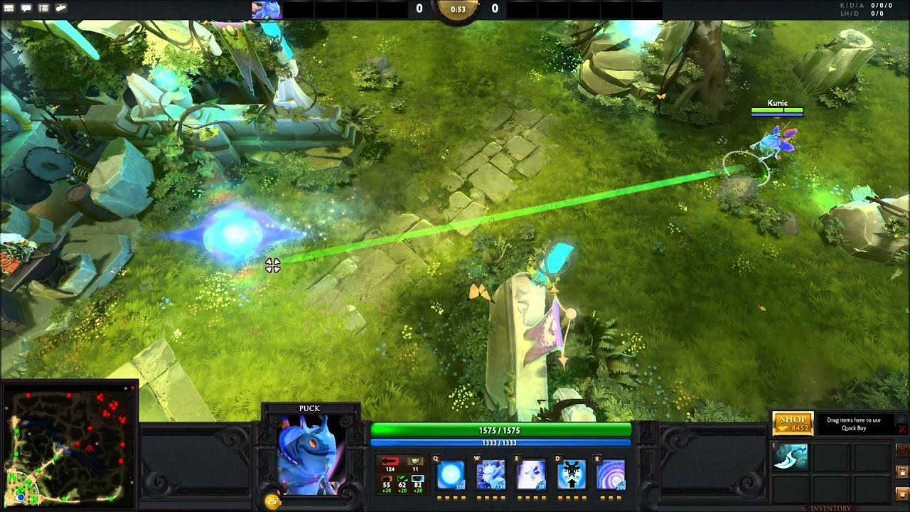 dota 2 spell range indicators youtube