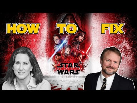 How to fix Star Wars The Last Jedi and Luke Skywalker.