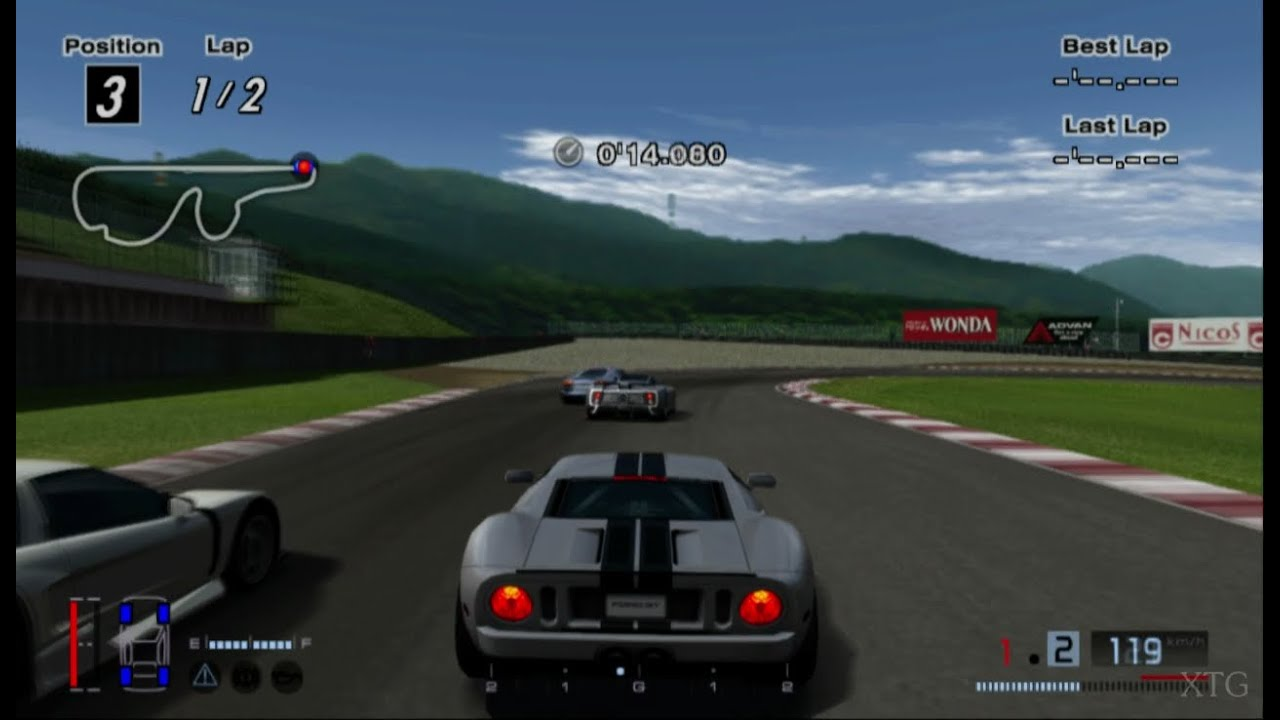 gran turismo 4 ford gt 39 05 hd ps2 gameplay youtube. Black Bedroom Furniture Sets. Home Design Ideas