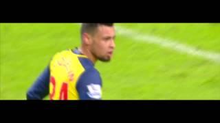 Francis Coquelin vs Manchester City 18/1/15 HD