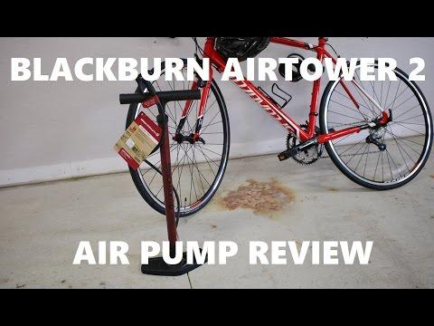 Blackburn Airtower 2 Bike Tire Floor Pump Review