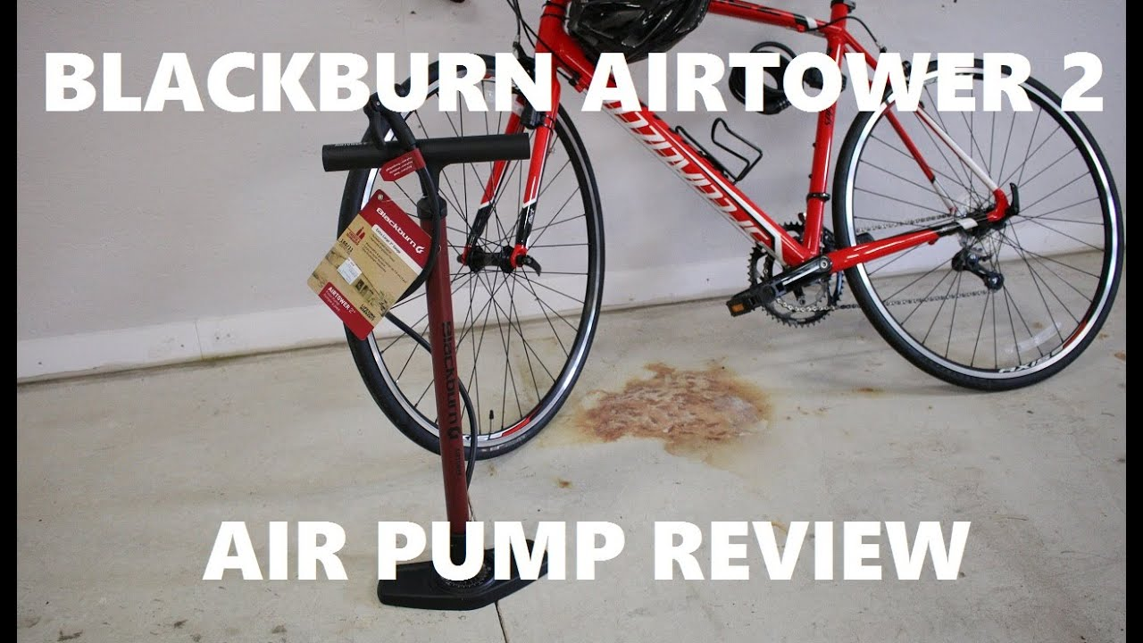 Airtower 2 floor pump.
