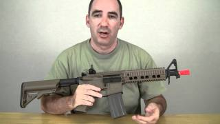 Elite Force M4 CQB Airsoft Review