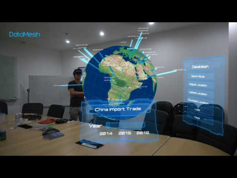 Big Data Visualization With HoloLens Spectator View