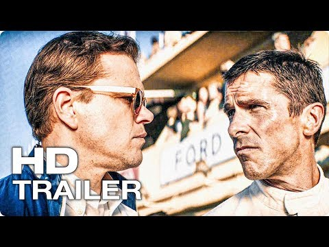 FORD против FERRARI Русский Трейлер #2 (2019) Кристиан Бэйл, Мэтт Дэймон Action Movie HD