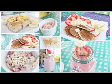 Healthy Breakfast Ideas~ Easy, Quick & Tasty! Get Fit for