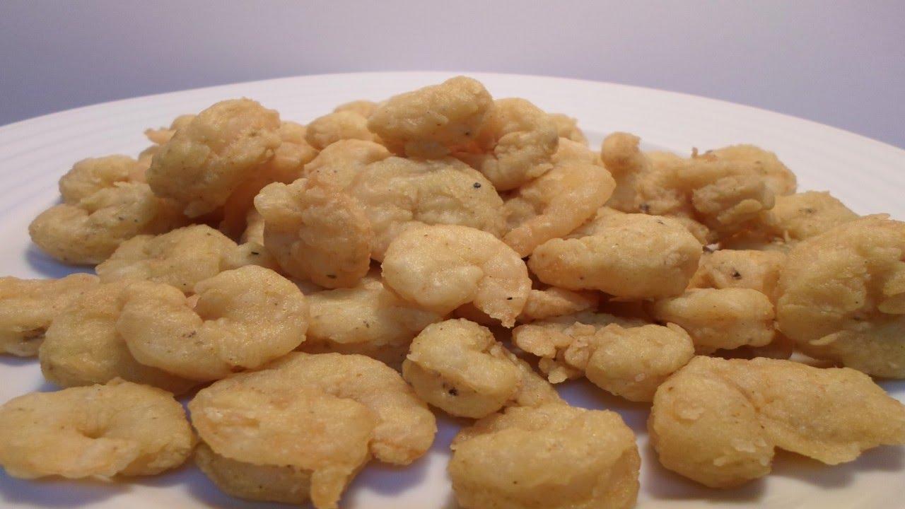 سر عمل الجمبري المقلي الكريسبي الطري من الداخل و المقرمش من الخارج Crispy Fried Shrimp Youtube