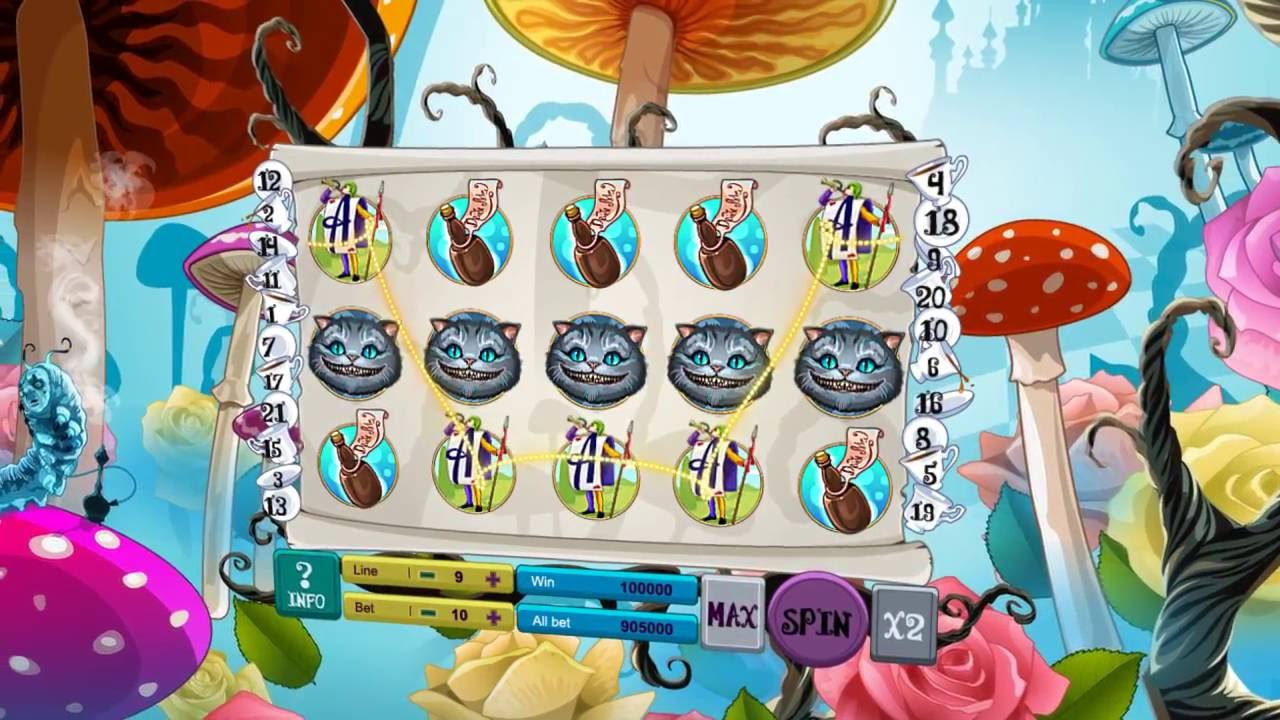 Alice in wonderland slots