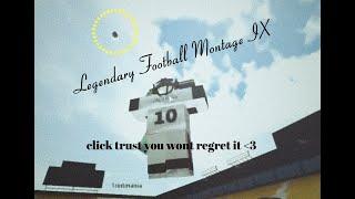 Stronger | Legendary Football Montage IX