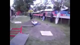 Freeride bike jumps by Christian