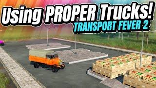 Making MILLIONS with PROPER TRUCKS! | Transport Fever 2 (Part 5)