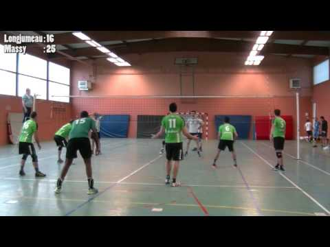 Equipe Masculine Volley ball : Longjumeau vs Massy