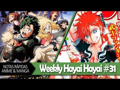 Animes Más Vistos en México, Boku no Hero La Película, Orient: Nuevo Manga | WEEKLY HAYAI HAYAI #31