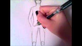 How to draw a guy full body *more detail*