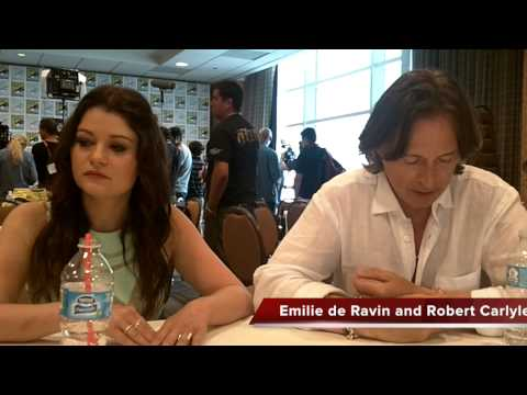Emilie de Ravin and Robert Carlyle Talk ONCE UPON A TIME Season 4