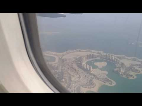 Aerial view of Doha Qatar