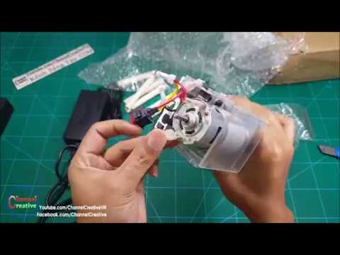 Test MINI LATHE MACHINE For Woodworking DIY