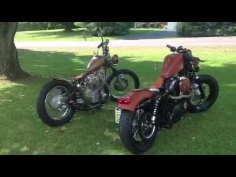 Sportster 48 And 73 Honda Cb450 Bobber