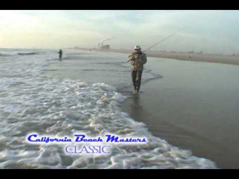 California beach masters classic surf fishing tournament for Surf fishing southern california