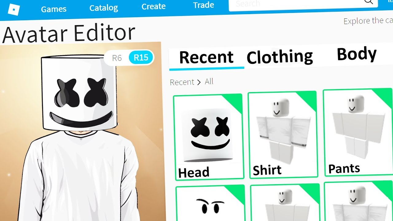 making marshmallow a roblox account