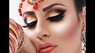 Как сделать арабский макияж. Видео урок макияжа