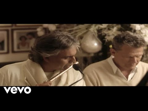 Andrea Bocelli, David Foster - White Christmas / Home Acoustic Version