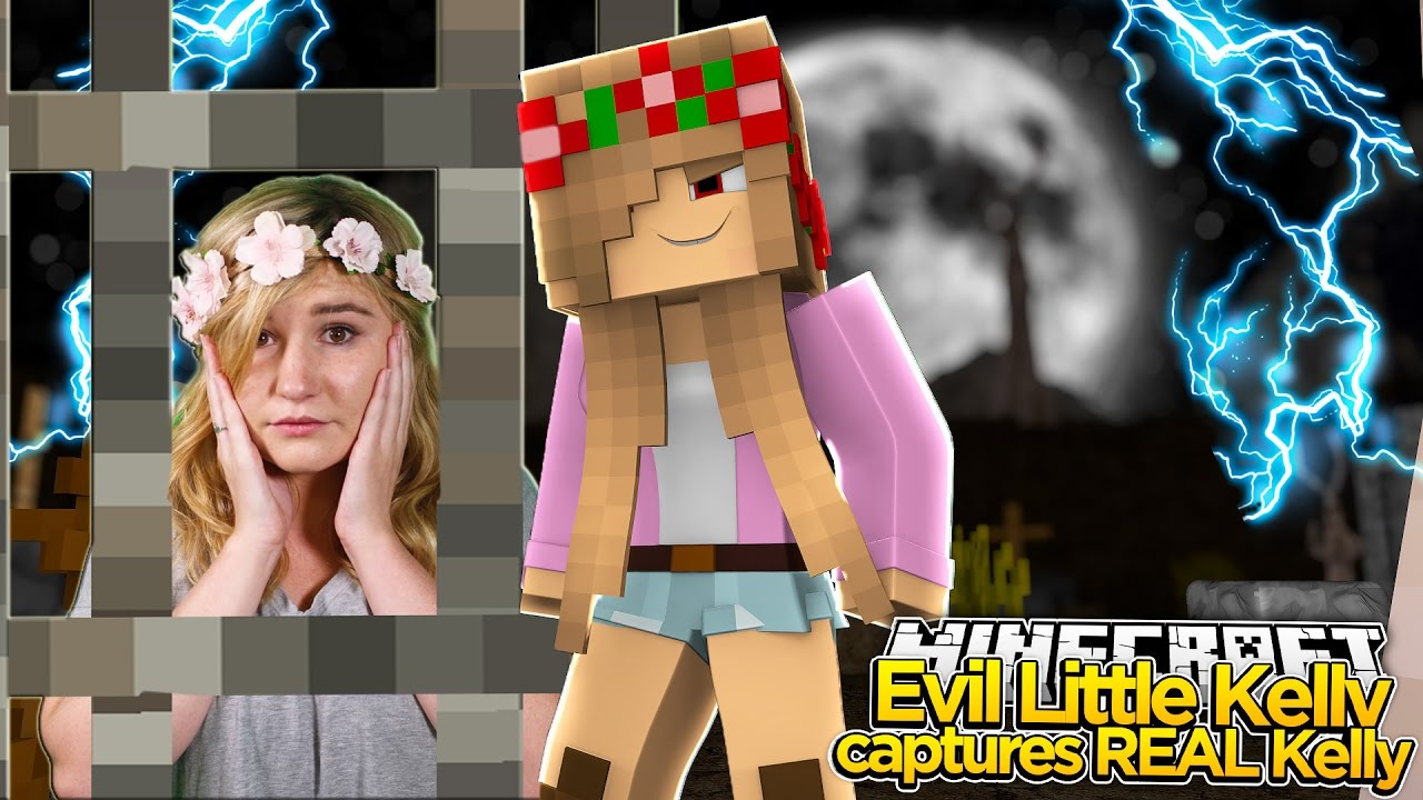 Realistic Minecraft - EVIL LITTLE KELLY TRAPS REAL KELLY!