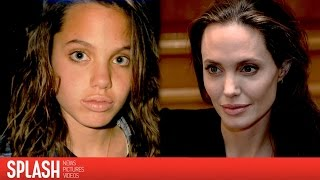 Watch Angelina Jolie Age from 13 to 41-years-old
