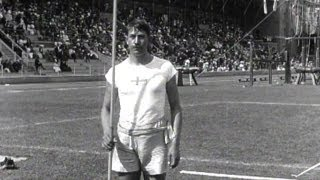 Eric Lemming Wins First Olympic Javelin Gold - Stockholm 1912 Olympics