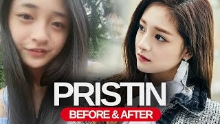 PRISTIN - Predebut Vs Now : Before and After (Pictures)