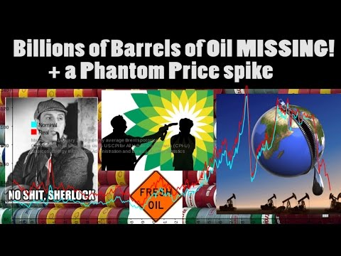 Billions of Barrels of Oil MISSING! + a Phantom Price SPIKE! The great economic mystery* of 2016.