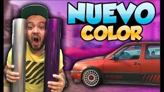 ¡ELIGIENDO EL NUEVO COLOR DE MI COCHE! | PANCHO RU JETTA MK3