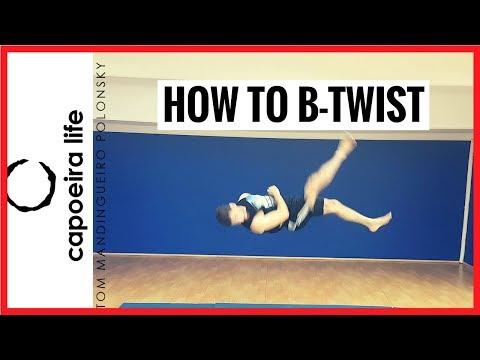 How to B-TWIST/PARAFUESTA | Acrobatics Tutorial Series | Capoeira Life Show