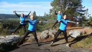 Обучение правильной ходьбе с палками BungyPump