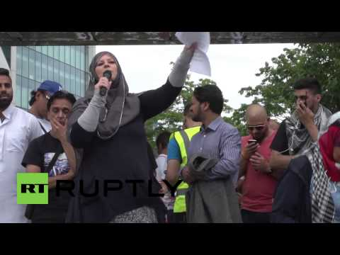 UK: Protesters call out BBC 'lies' about Palestine