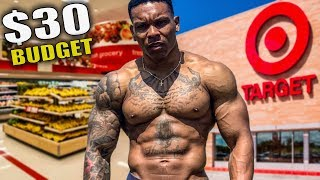 $30 FOR A WEEK OF LEAN BULKING | Target Groccery Shopping List