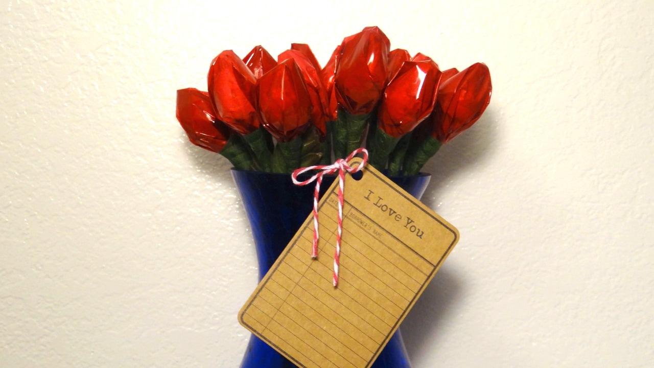 Hersheys Kisses Roses Youtube