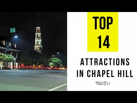 Top 14. Best Tourist Attractions in Chapel Hill, North Carolina