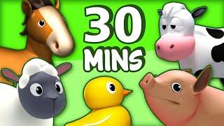Nursery Rhymes and Kids Songs 🐖🐄 Old MacDonald Had A Farm 🐑🐓Raggs TV