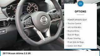 2019 Nissan Altima Used 2019 Nissan Altima 2.5 SR 190600