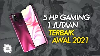 5 HP GAMING 1 JUTAAN TERBAIK 2021 AWAL - GOSIP TEKNO INDONESIA