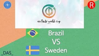 Osu Taiko World Cup 2017 Group Stage Group E Brazil Vs Sweden