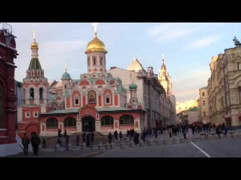 """A """"guided tour"""" lol around Moscow, Russia."""