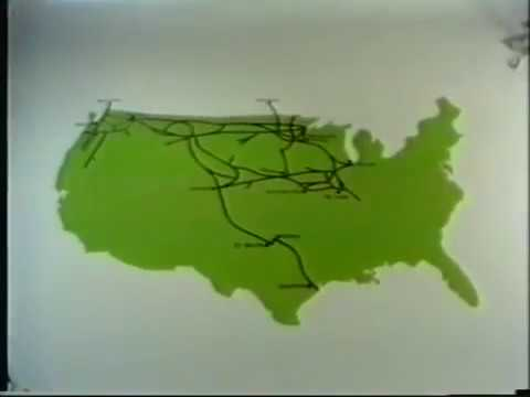Think, that burlington northern right of way strip map