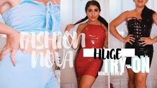 HUGE Fashion Nova Try On Haul HONEST REVIEW
