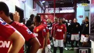 Usain Bolt at Manchester United 2012