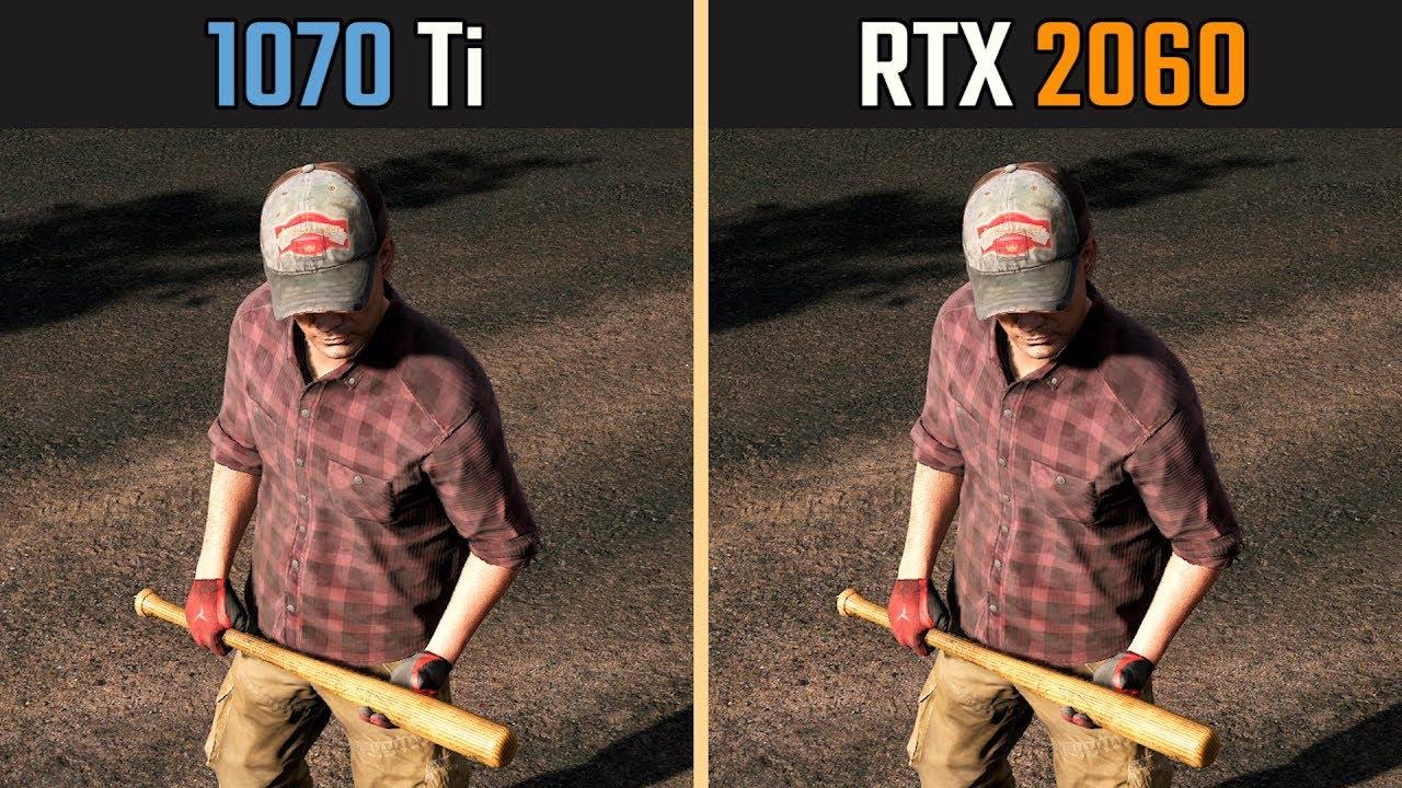 RTX 2060 vs  GTX 1070 Ti (Test in 8 Games) | Alienware Arena