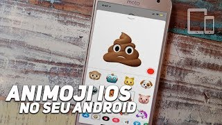 SAIU!! COMO TER ANIMOJI DO IPHONE X NO ANDROID 2017/2018.